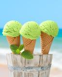 Minty lody Zdjęcie Stock