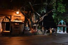 Minuit à la ville de Kolkata Photo libre de droits