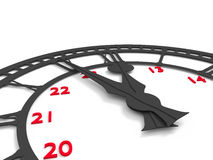 5 minut 12 Fotografia Stock