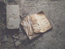 Minute d'histoire triste Photographie stock libre de droits