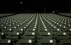 Minute Maid Park Stands. Waiting for the start of baseball season Royalty Free Stock Photography