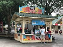 Minute Maid Smoothies Stand at Carowinds in Charlotte, NC Royalty Free Stock Images