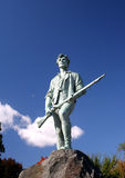 Minute Man Statue. In Lexington, Massachusetts stock photos