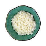 Minute Rice Decorative Bowl Stock Photo