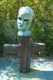 Minuteman sculpture by Robert Arneson in De Young Museum in San Francisco Royalty Free Stock Photos