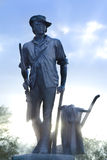 Minuteman statua zdjęcia stock