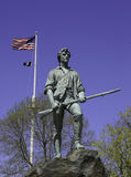 Minuteman Statue Stock Photo
