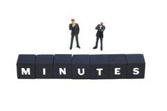 Minuten Lizenzfreie Stockfotos