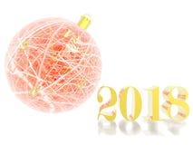 5 minuter för boll 1 för 2018 jul Stock Illustrationer