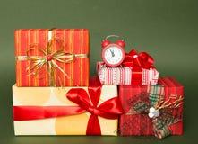 Minuter som lämnas till jul Arkivfoto
