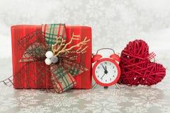 Minuter som lämnas till jul Royaltyfri Bild
