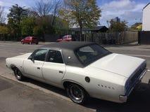Minuterie de Chrysler 1975 majestueux vaillants vieille image stock
