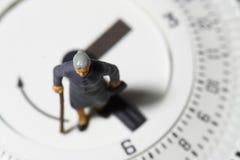 Minuterie supérieure A de thermostat de dame Photo stock