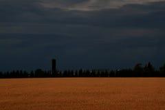 Minutes avant la tempête puissante à commencer Image libre de droits