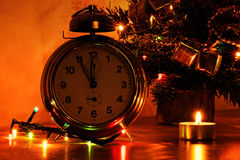 Minutes to midnight Stock Image