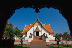 Minuto del phu de Wat en Nan Tailandia Fotos de archivo libres de regalías