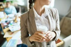 Minuto para o café Imagem de Stock