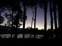 Minutos antes de la noche Imagen de archivo