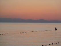 20 minutos antes de la salida del sol Imagen de archivo libre de regalías