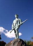 Minuziöse Mann-Statue Stockfotos