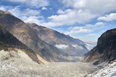 Minya Konka Glacier Stock Images