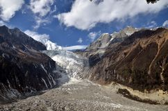 Minya Konka Glacier Royalty Free Stock Photography