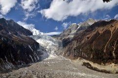 Minya Konka Glacier Royalty Free Stock Photography