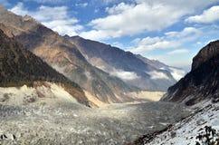 Minya Konka Glacier Stock Photos