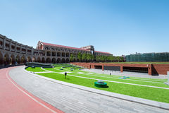 Minyuan stadium tianjin, China. Royalty Free Stock Images