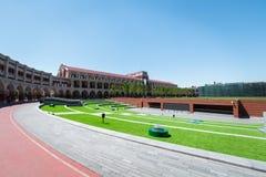 Minyuan stadium tianjin, China. royalty free stock images