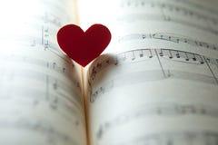 Miłość dla muzyki Zdjęcia Royalty Free