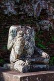 Mio figlio - ruines di hinduism fotografie stock libere da diritti