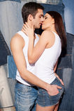Miłość i pasja. Zdjęcie Stock