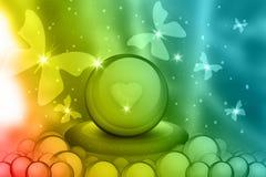 Miłość jajka Zdjęcia Stock