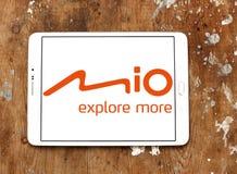 Mio Technology-bedrijfembleem royalty-vrije stock foto's