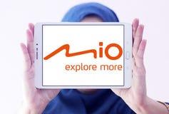 Mio Technology företagslogo fotografering för bildbyråer