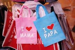 Miłość torby Obraz Stock