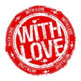 miłość znaczek Zdjęcia Royalty Free