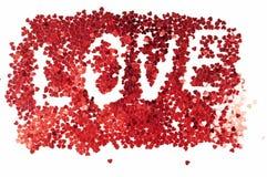 miłość znak Zdjęcia Stock