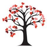 miłości drzewo Fotografia Royalty Free