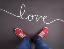 Miłości pojęcie Fotografia Stock