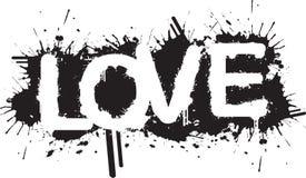 miłości splatter Zdjęcia Stock