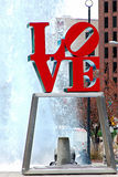 Miłości statua Obraz Royalty Free