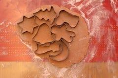 Miodowi ciastka obrazy royalty free