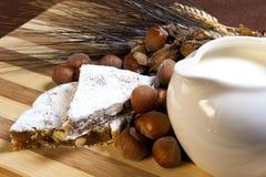 Miodowników dokrętek mleka i banatki ucho, Obraz Stock