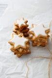 Miodowników gwiazdowi ciastka Obraz Royalty Free