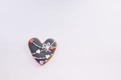 Miodownik w formie serca Zdjęcia Stock