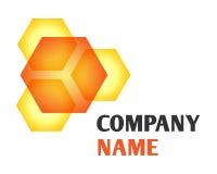 miodowy logo Obraz Stock