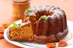 Miodowy tort zdjęcie stock