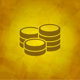 Mioney Icon Stock Image